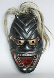 Oni Teufel Devil Maske Hannya Mask No Japan